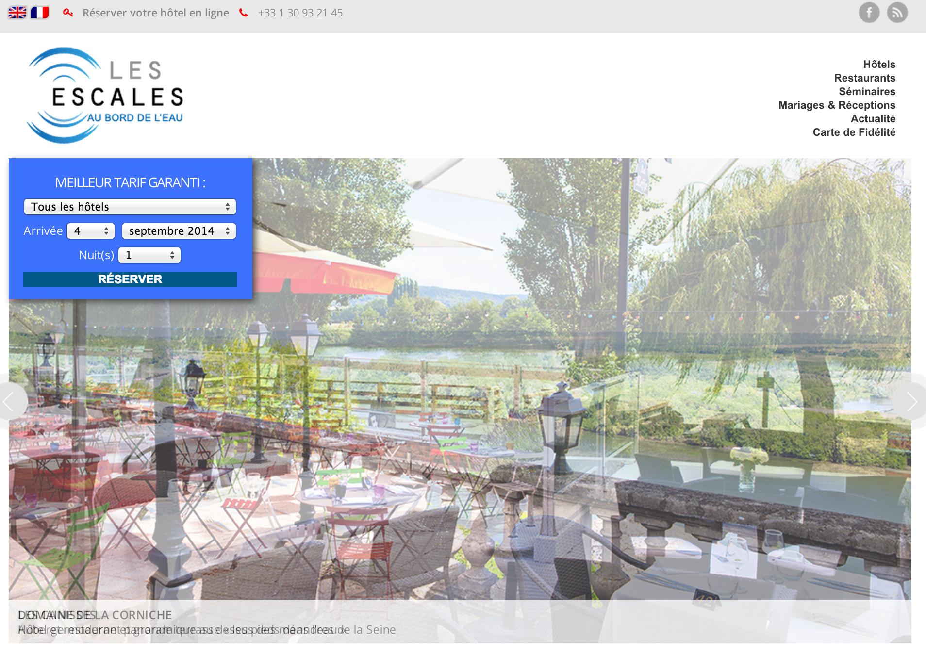 nouveau site internet pour les h tels au bord de l eau