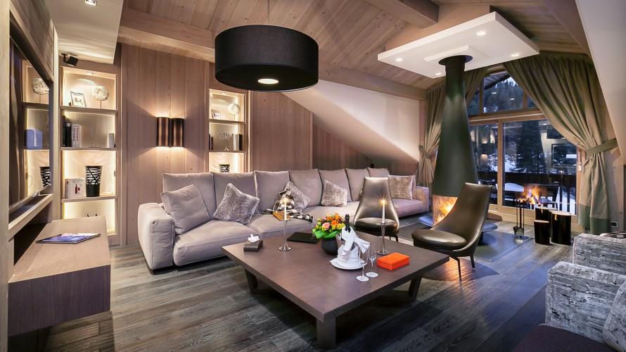 Hôtel de luxe à Courchevel