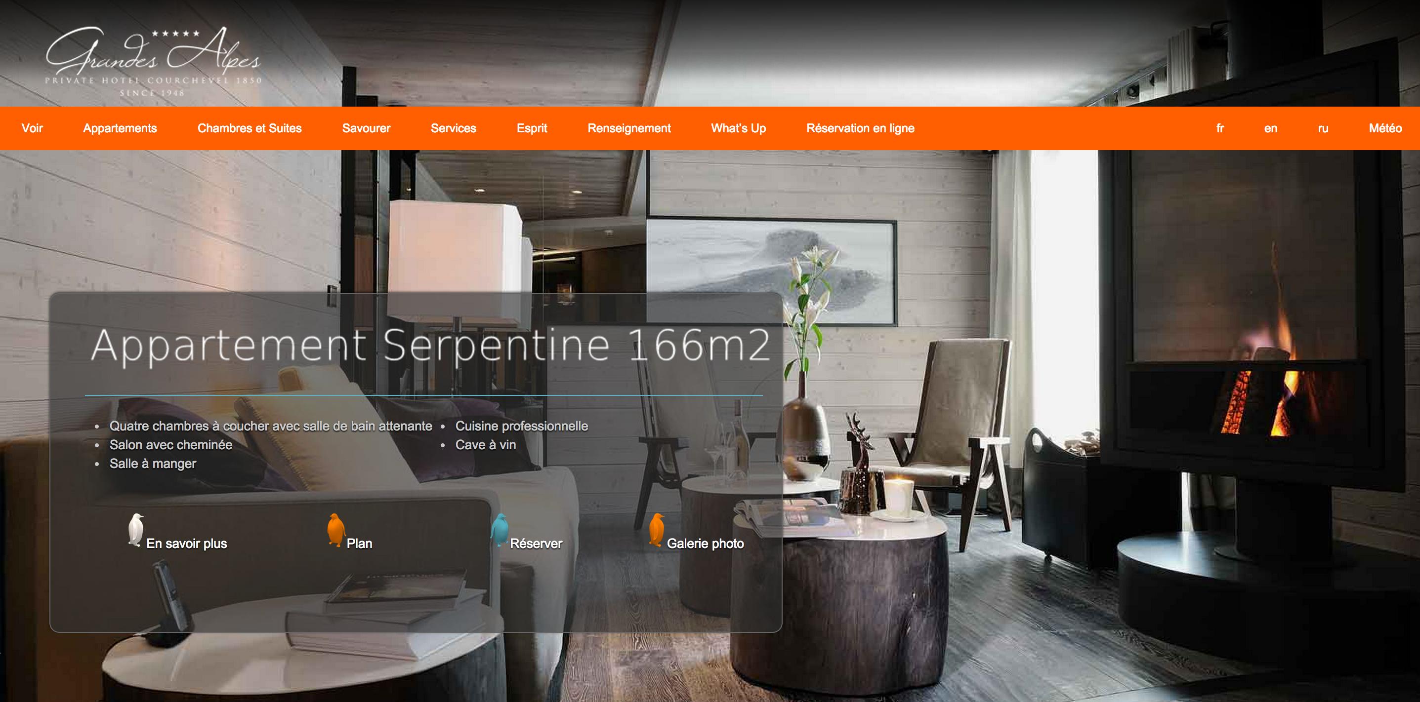 Webmaster pour hôtels de luxe
