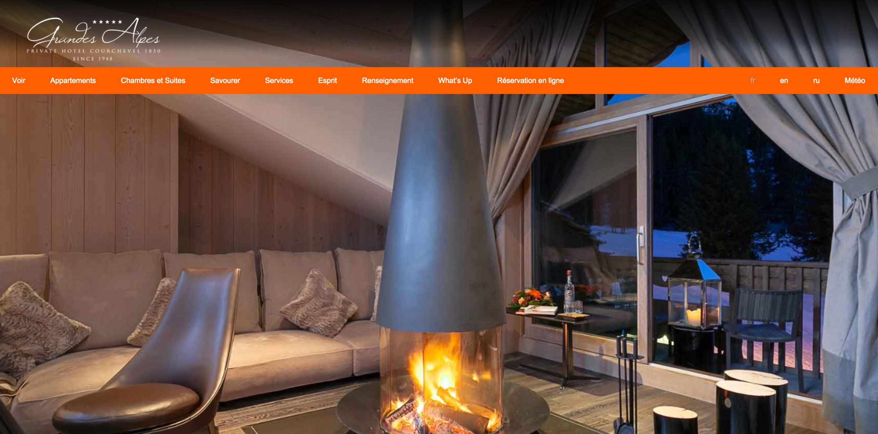 Webmaster hôtelier pour hôtels à la montagne