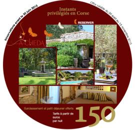 Emailing hôtelier - exemple d'hôtel en Corse