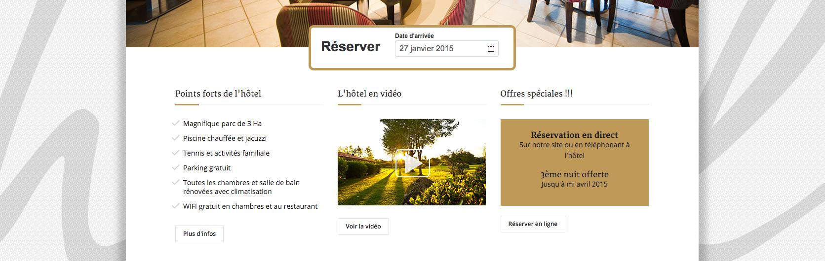 Developpement de sites vendeurs pour hôtels