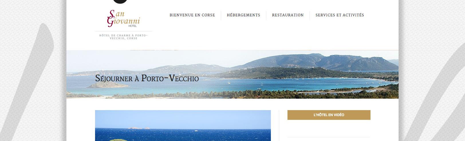Webmaster hôtelier développant des sites internet pour hôtels indépendants